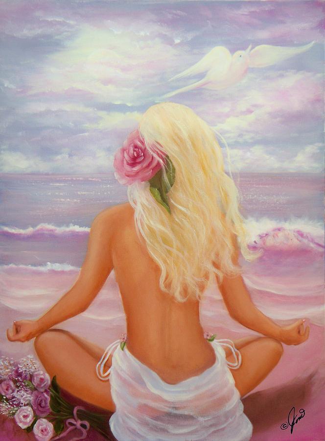 Meditation Painting - Meditation by Joni McPherson