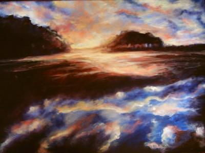 Meditation Painting by Kostadin Kostov