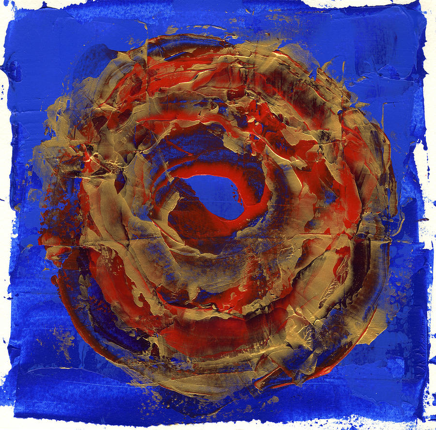Abstract Painting - Meditation One  by Lucia  Perez