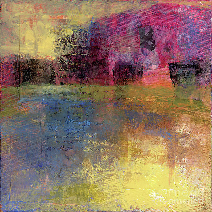 Abstract Painting - Meditation Place by Melody Cleary