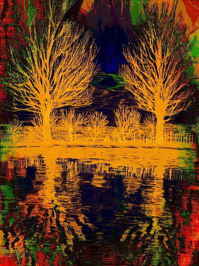 Pop Culture Digital Art - Meditation by Robert Grubbs