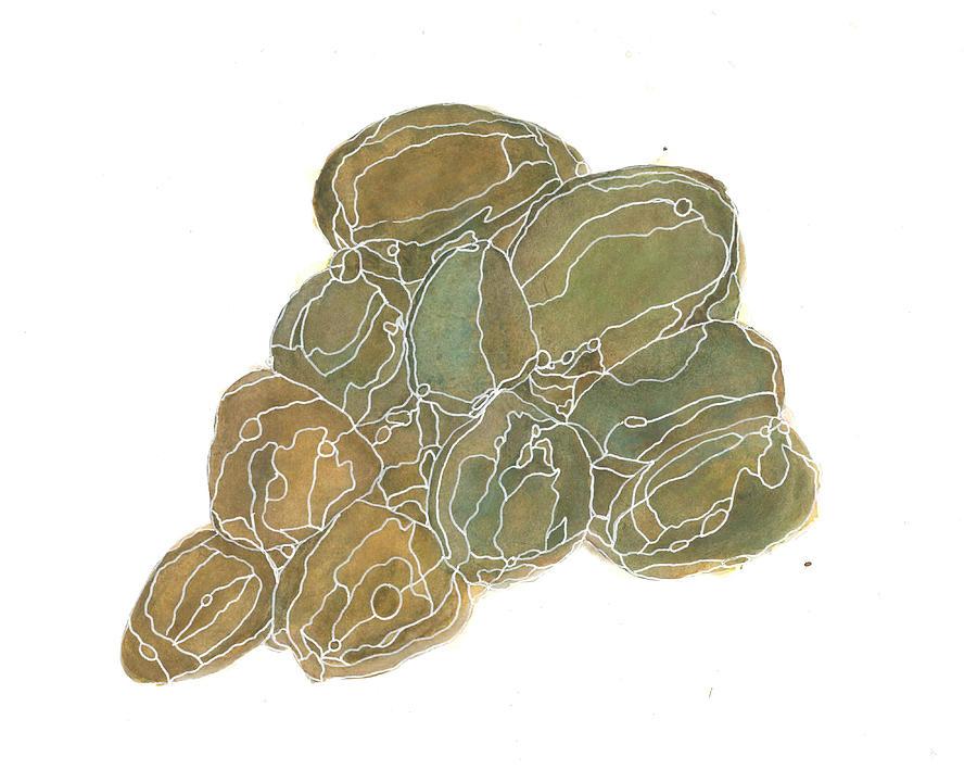 Rock Painting - Meditation Rocks 3 by Katie Ree