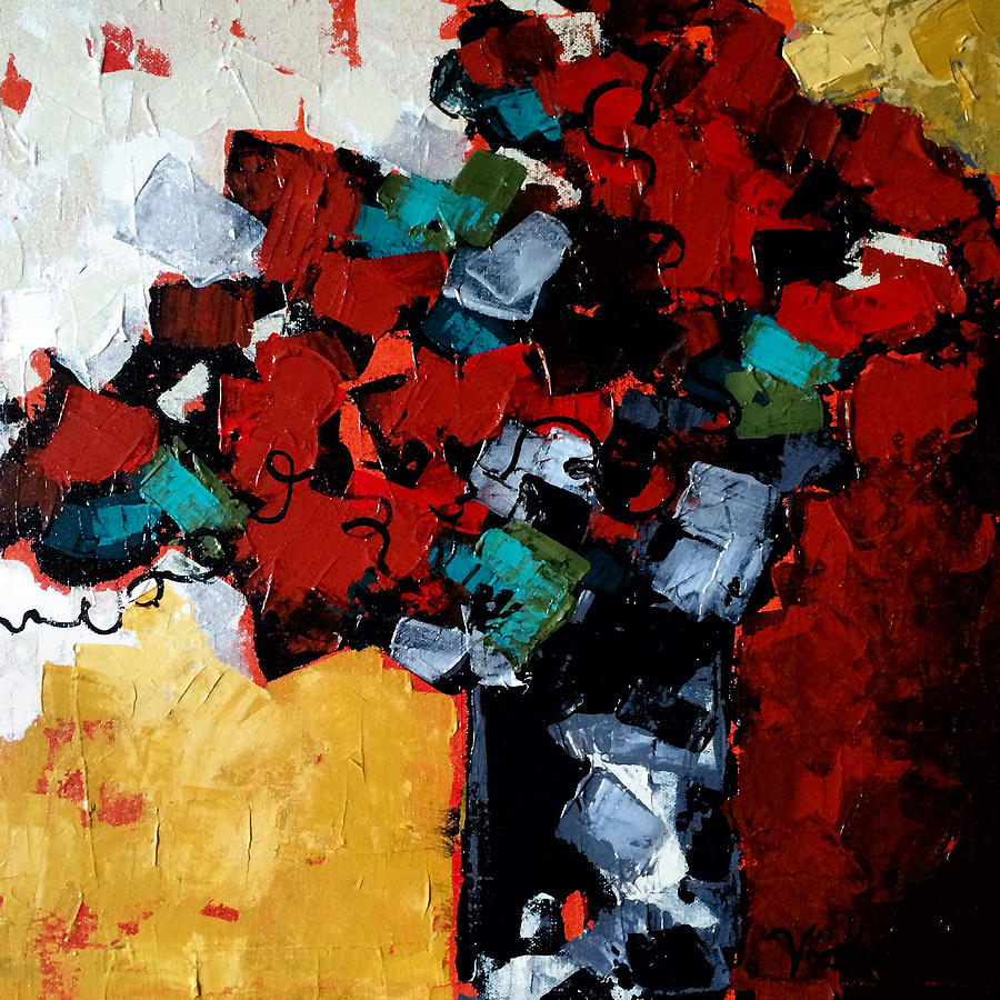 Abstract Painting - Medley by Vickie Warner