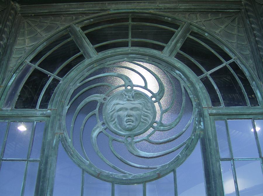 Window Photograph - Medusa by Brian Degnon