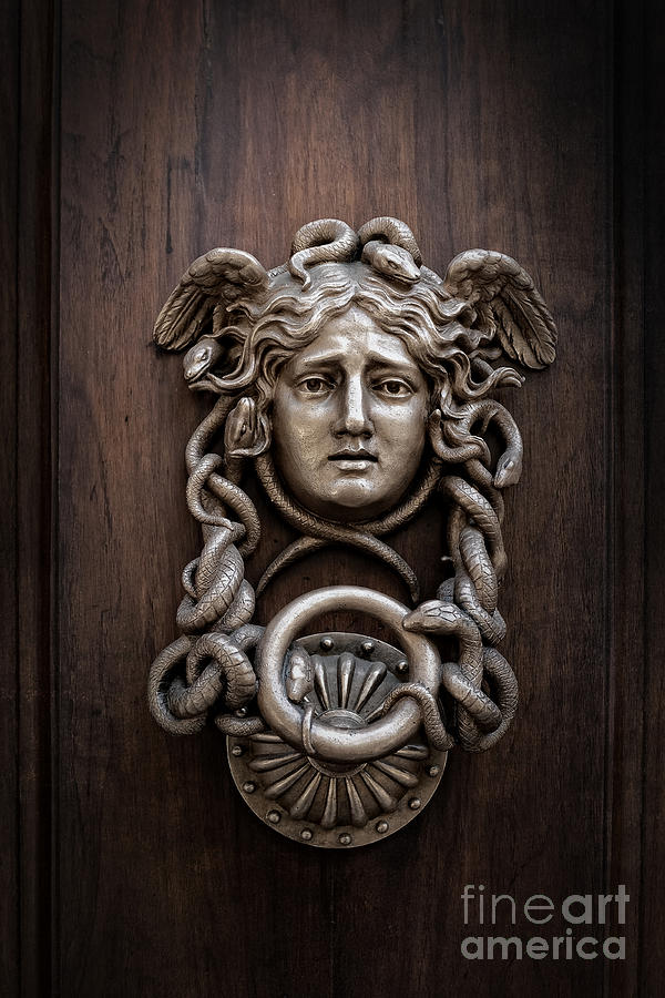 Medusa Head Door Knocker Photograph