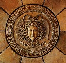 Greek Sculpture Sculpture - Medusa Head Wall Plaque by Goran
