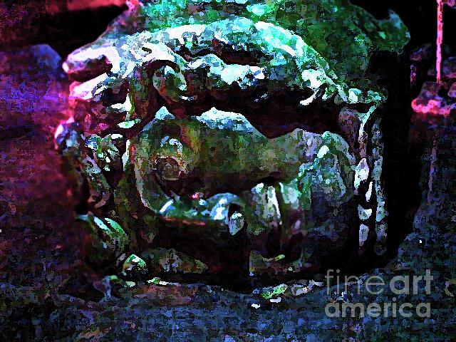 Water Digital Art - Medusa by Jon Fennel