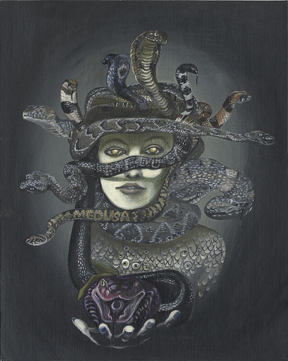 Medusa Print - Medusa by Shane Lieske