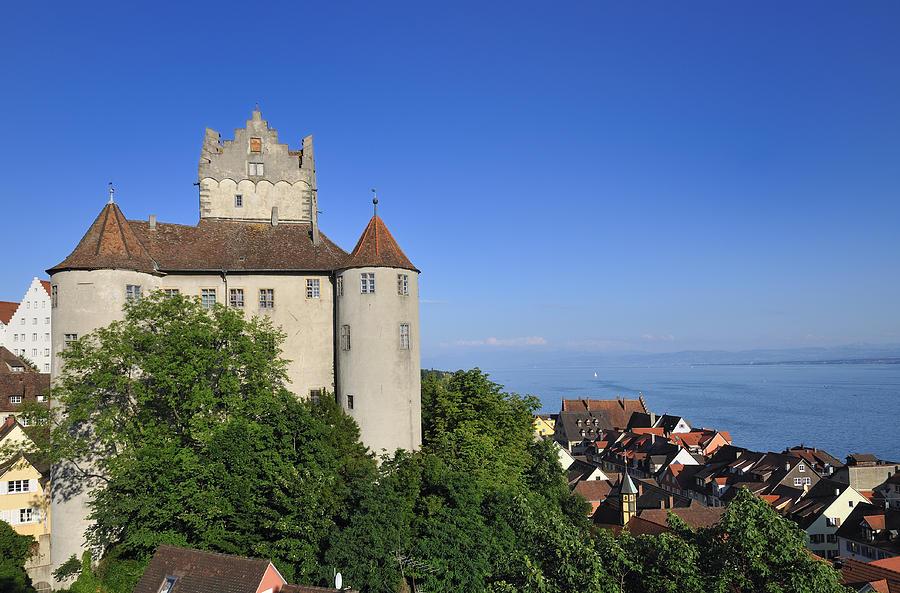 Meersburg Photograph - Meersburg Castle - Lake Constance Or Bodensee - Germany by Matthias Hauser