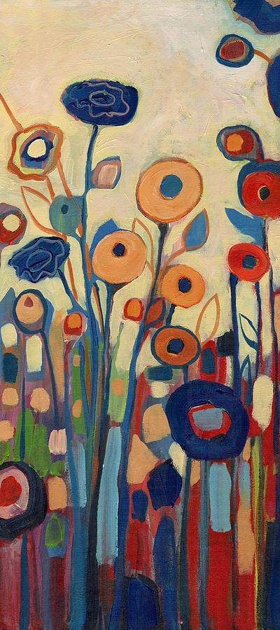 Meet Me In My Garden Dreams Part B Painting