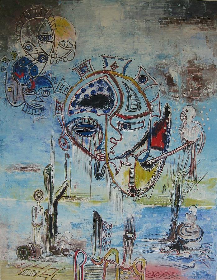 Meeting Age Painting by Nji Verldad