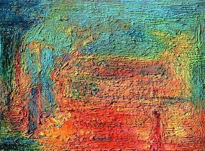 Meeting Painting - Meeting by Marat Dusembaev