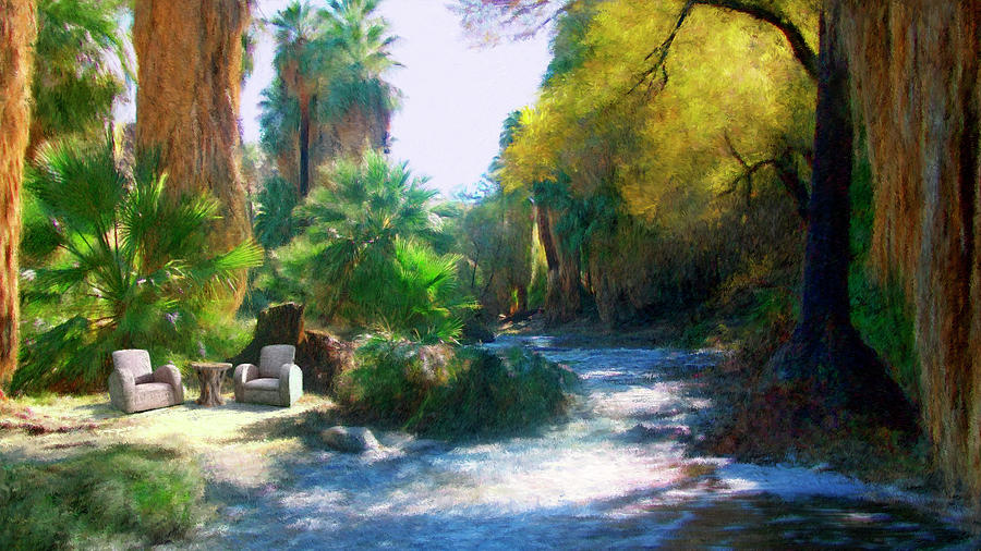 Nature Digital Art - Meeting Place by Snake Jagger