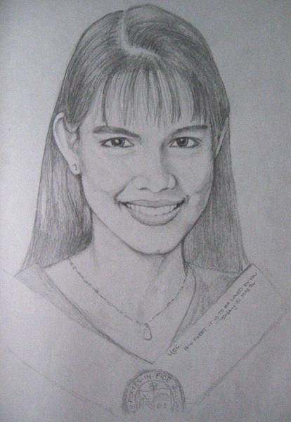 Figures Drawing - Meg by Bobby Barredo