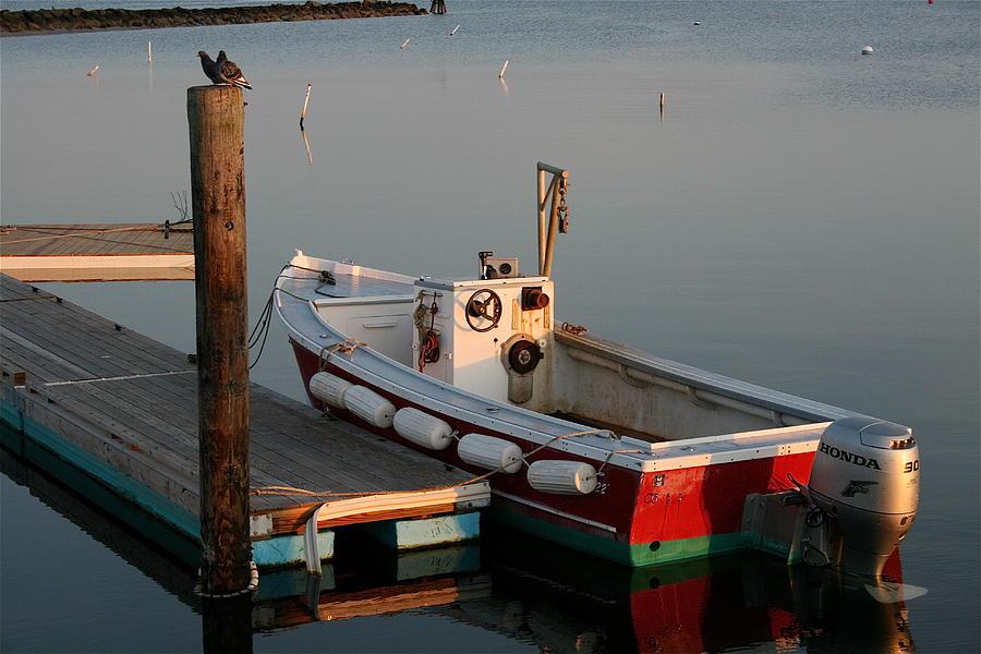 Boat Photograph - Megansett Boat by Caitlin Reynolds