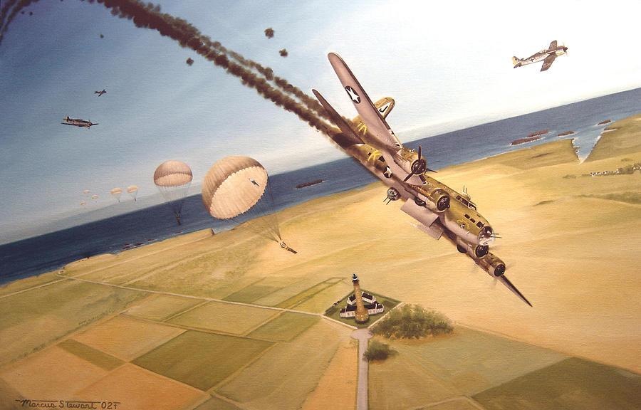 Aviation Painting - Mehitabel by Marc Stewart