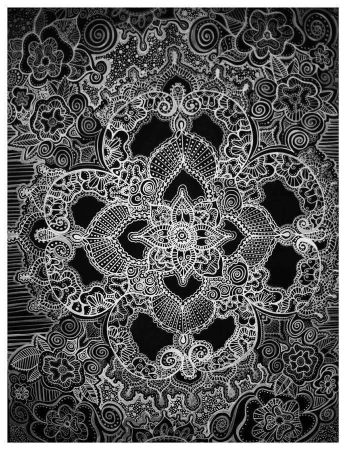 Henna Painting - Mehndi  by Michele Dobbs