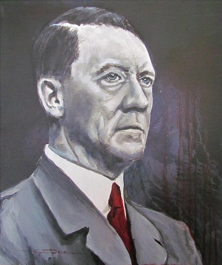 Mein Kampf Painting - Mein Schnurrbart by Eric Dee