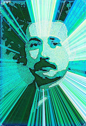 Einstein Digital Art - Meinstein by YoMamaBird Rhonda
