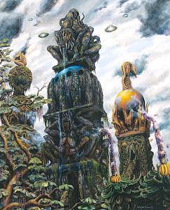 Melancholia Painting by Herve Scott Flament