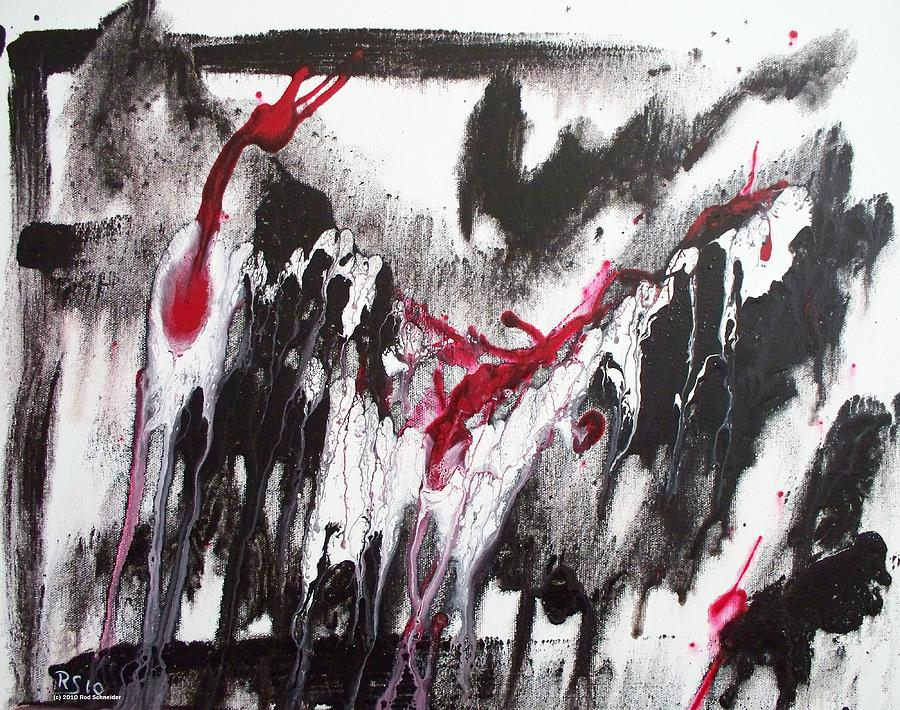 Abstract Painting - Melancholia I by Rod Schneider