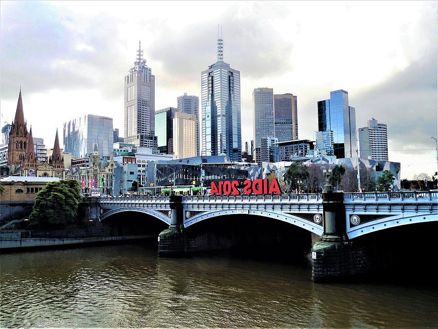 Melbourne Photograph - Melbourne 2014 Aids Conference by Yolanda Caporn