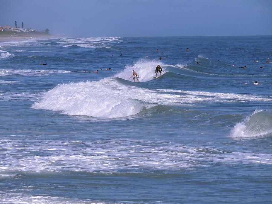 Florida Photograph - Melbourne Beach Florida Usa by Allan  Hughes
