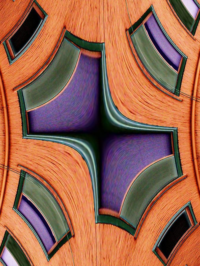 Windows Photograph - Melded Windows by Tim Allen