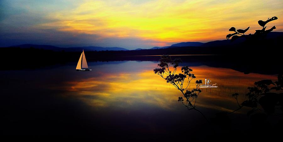 Mellow Moments in New England by Mike Breau