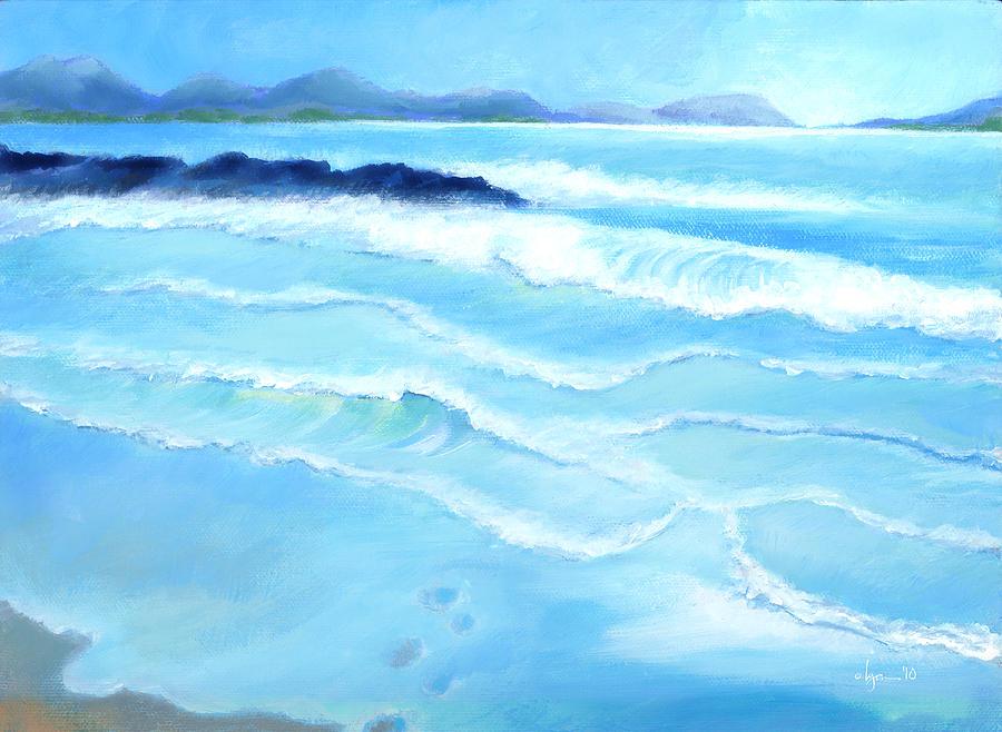 Kailua Painting - Mellow Morning by Angela Treat Lyon