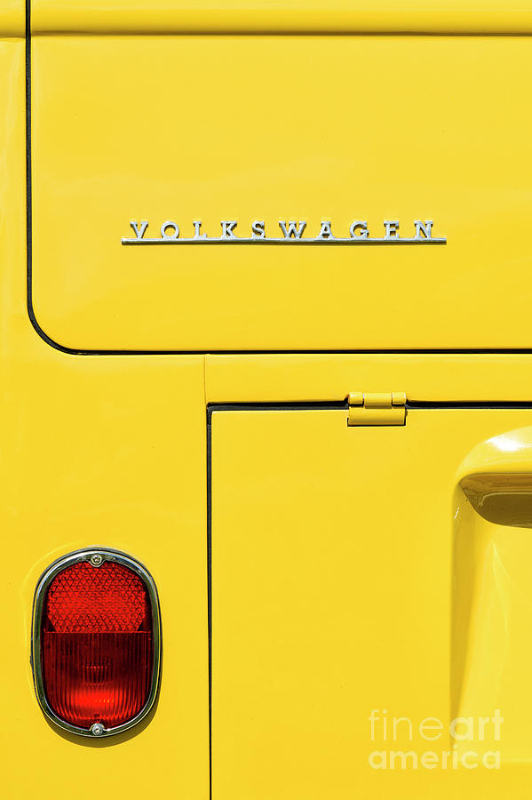 1965 Photograph - Mellow Yellow by Tim Gainey