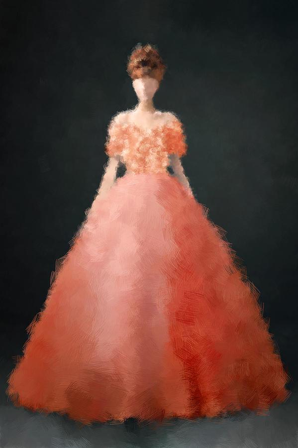 Fashion Digital Art - Melody by Nancy Levan