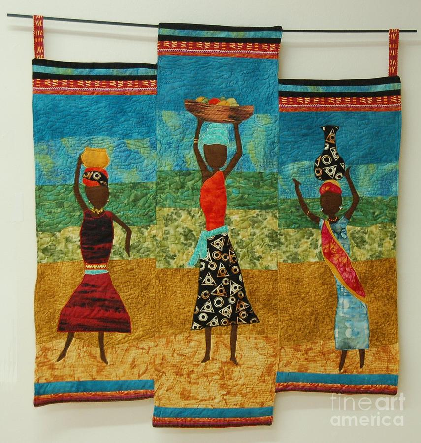 Melody Of The Plains Tapestry - Textile by Dolores Fegan