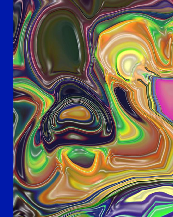 Organic Painting - Melt Down by Ecinja