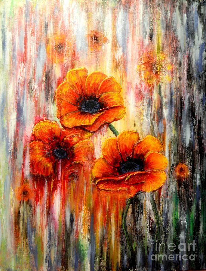 Melting flowers by Greg Moores