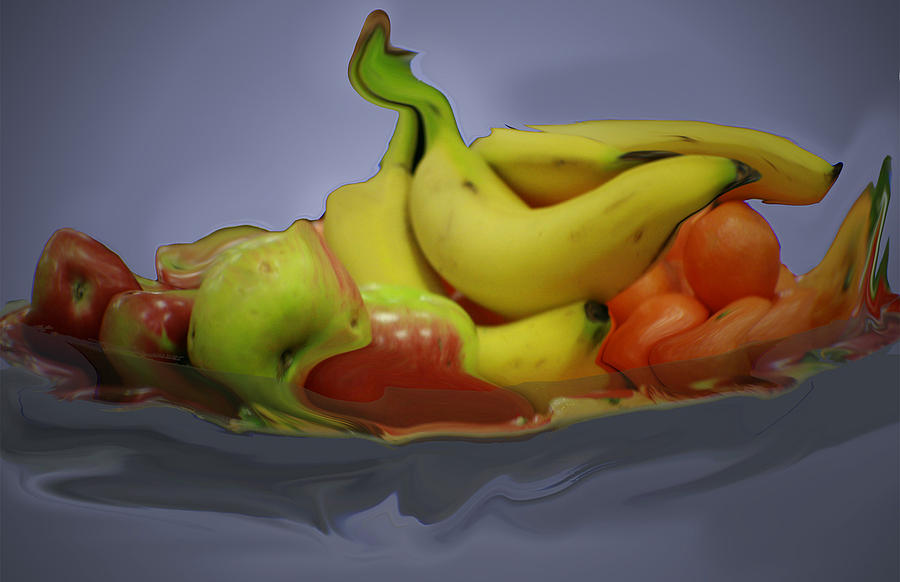 Abstract Photograph - Melting Fruit by Bill Ades