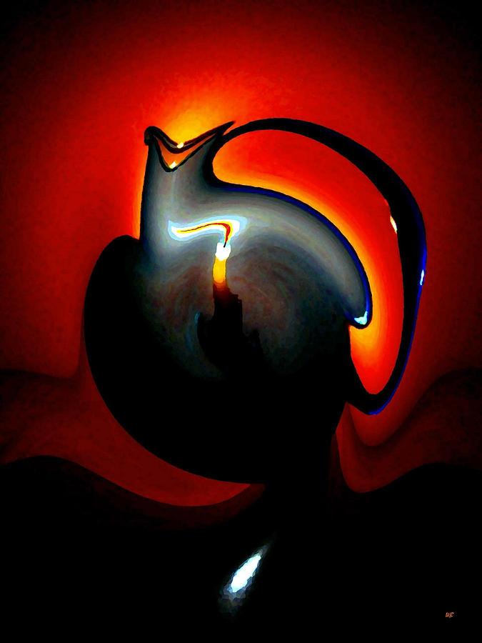 Dramatic Digital Art - Melting Point by Will Borden