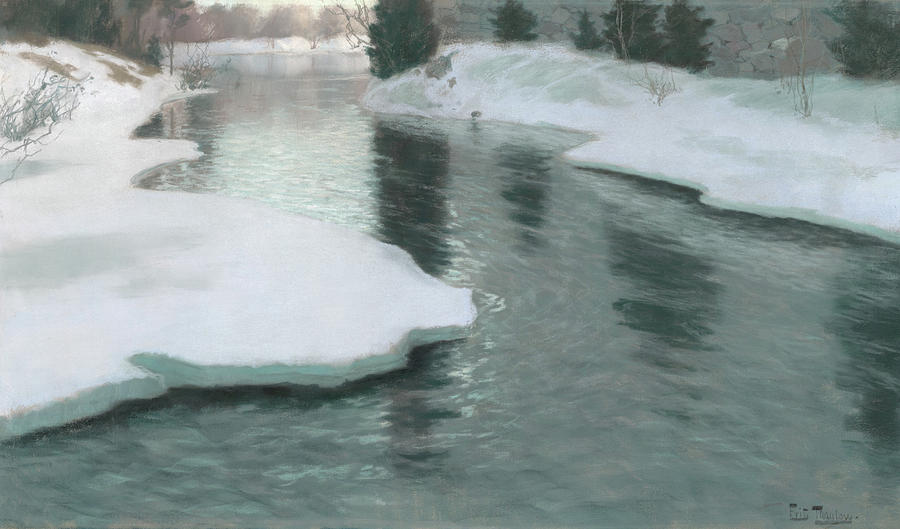 melting-snow-fritz-thaulow.jpg