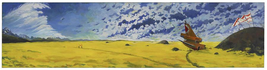 Rheostatics Painting - Melvillodramatus by Martin Tielli