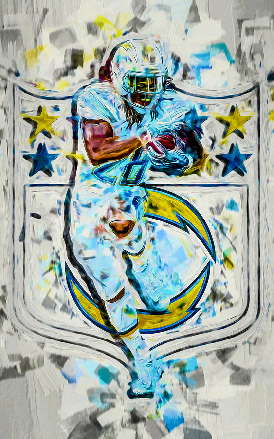 Melvin Gordon LA Chargers 2b PLight by David Haskett II
