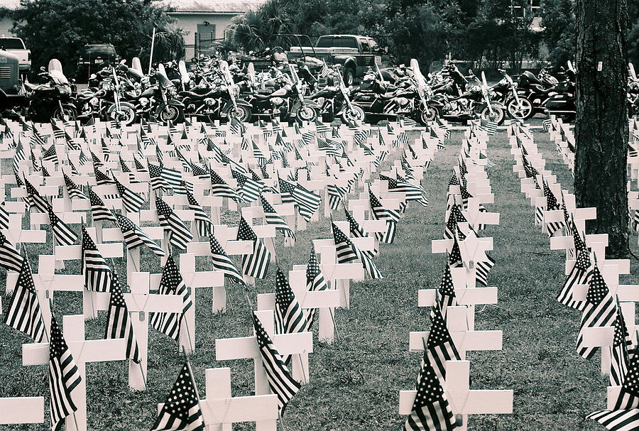 Remember Photograph - Memorial Day 2008 Stuart Fl 2 by Don Youngclaus