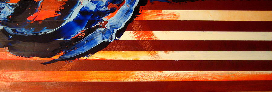 Memorial Day Flag 2016 by Charles Jos Biviano
