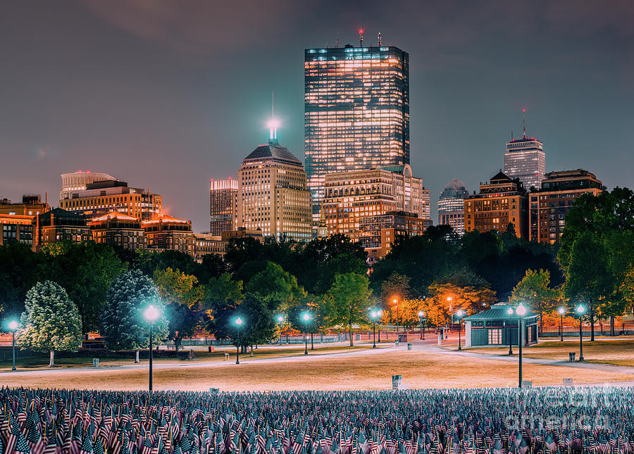 Memorial Day In Boston Photograph