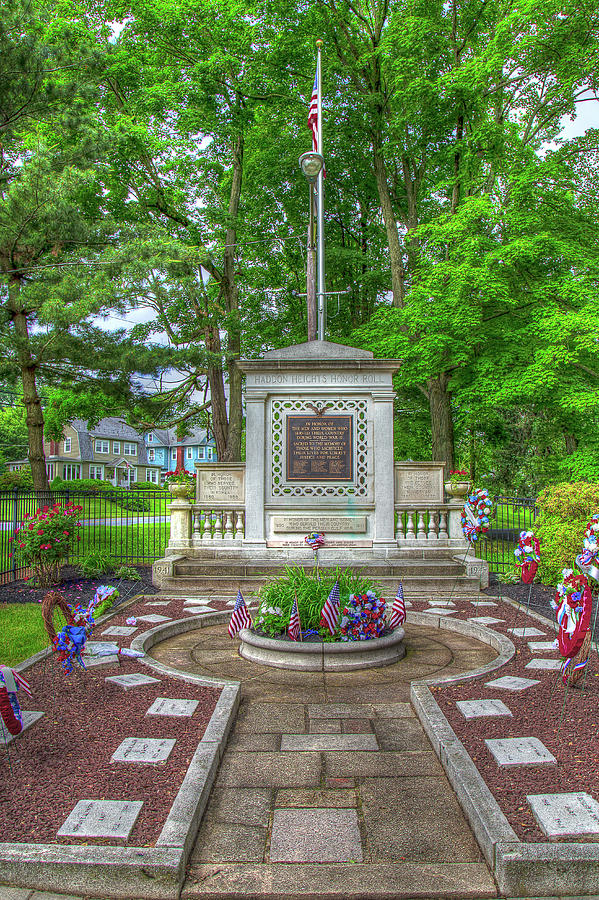 Memorial Day in Haddon Heights by John A Megaw