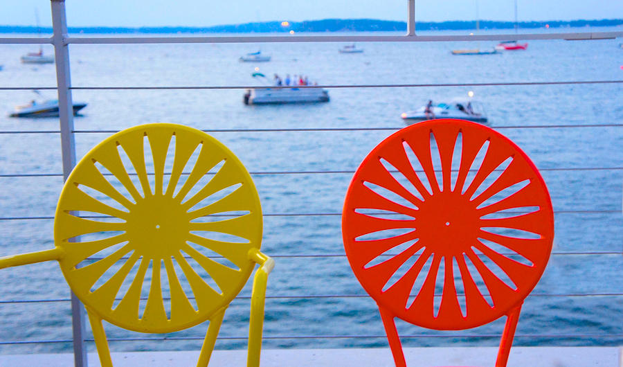 Madison Photograph - Memorial Union Terrace Chairs by Art Spectrum  sc 1 st  Fine Art America & Memorial Union Terrace Chairs Photograph by Art Spectrum