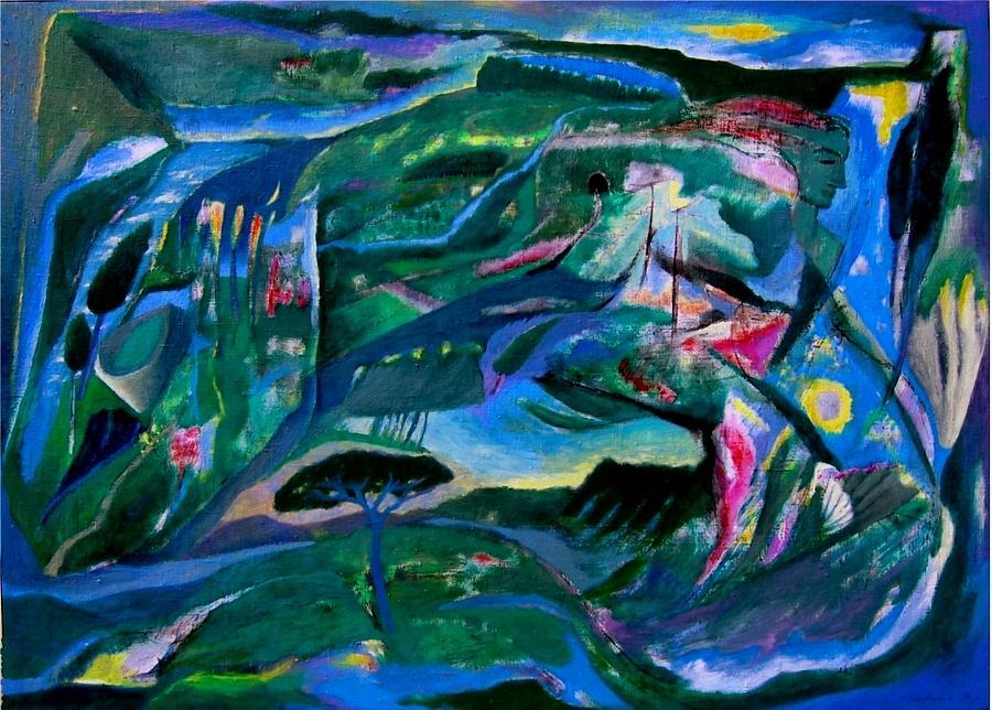 Memorie Painting by Adolfo De Turris