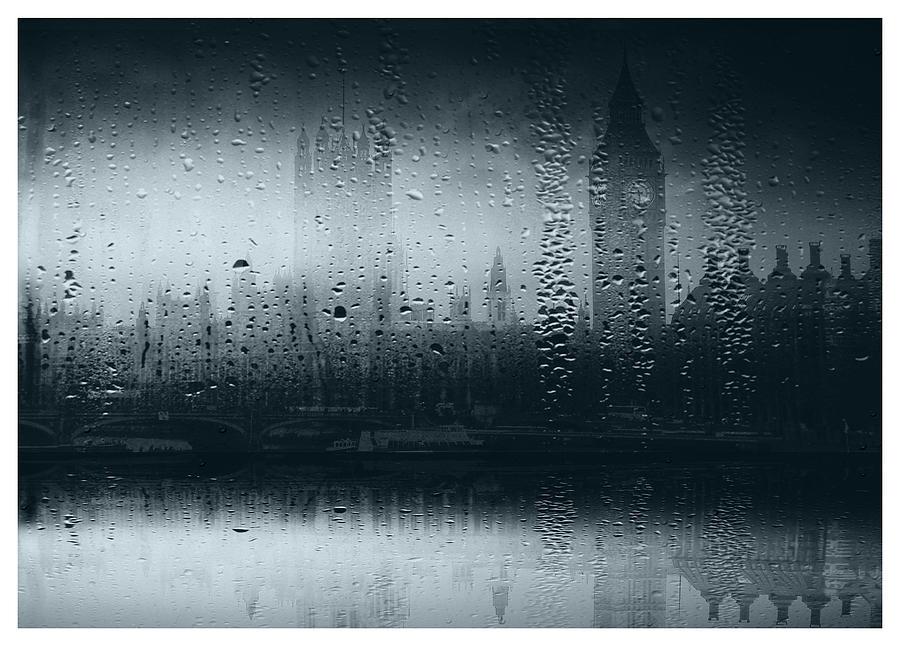 Big-ben Digital Art - Mystical London by Andrew Hunter