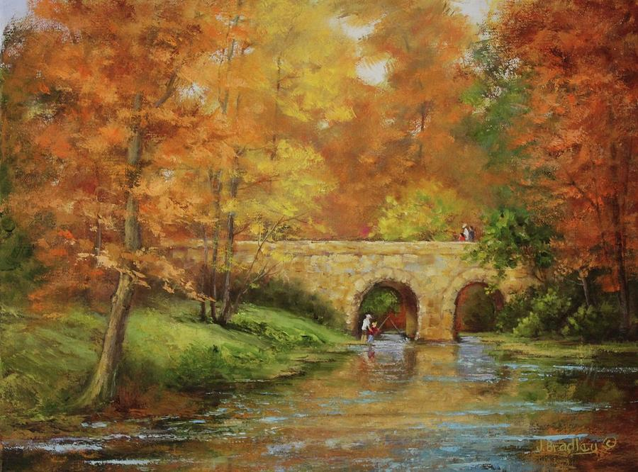 Memories at Stone Bridge by Judy Bradley