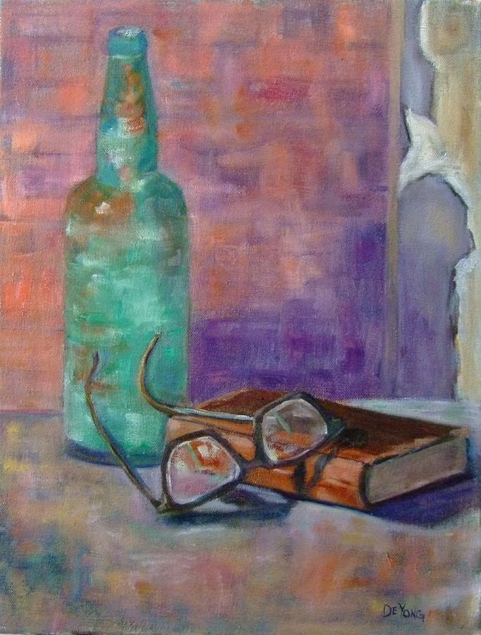 Memories From The Toner Hotel Painting by Glynis Berger