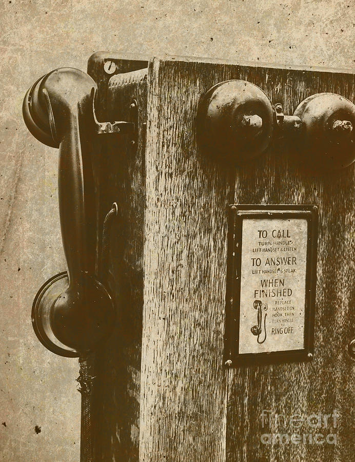 Telephone Photograph - Memories In Recall by Jorgo Photography - Wall Art Gallery